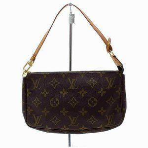 Auth Louis Vuitton Pochette Accessoires Hand Bag